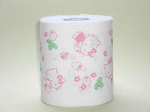 Papel hgiénico de Hello Kitty