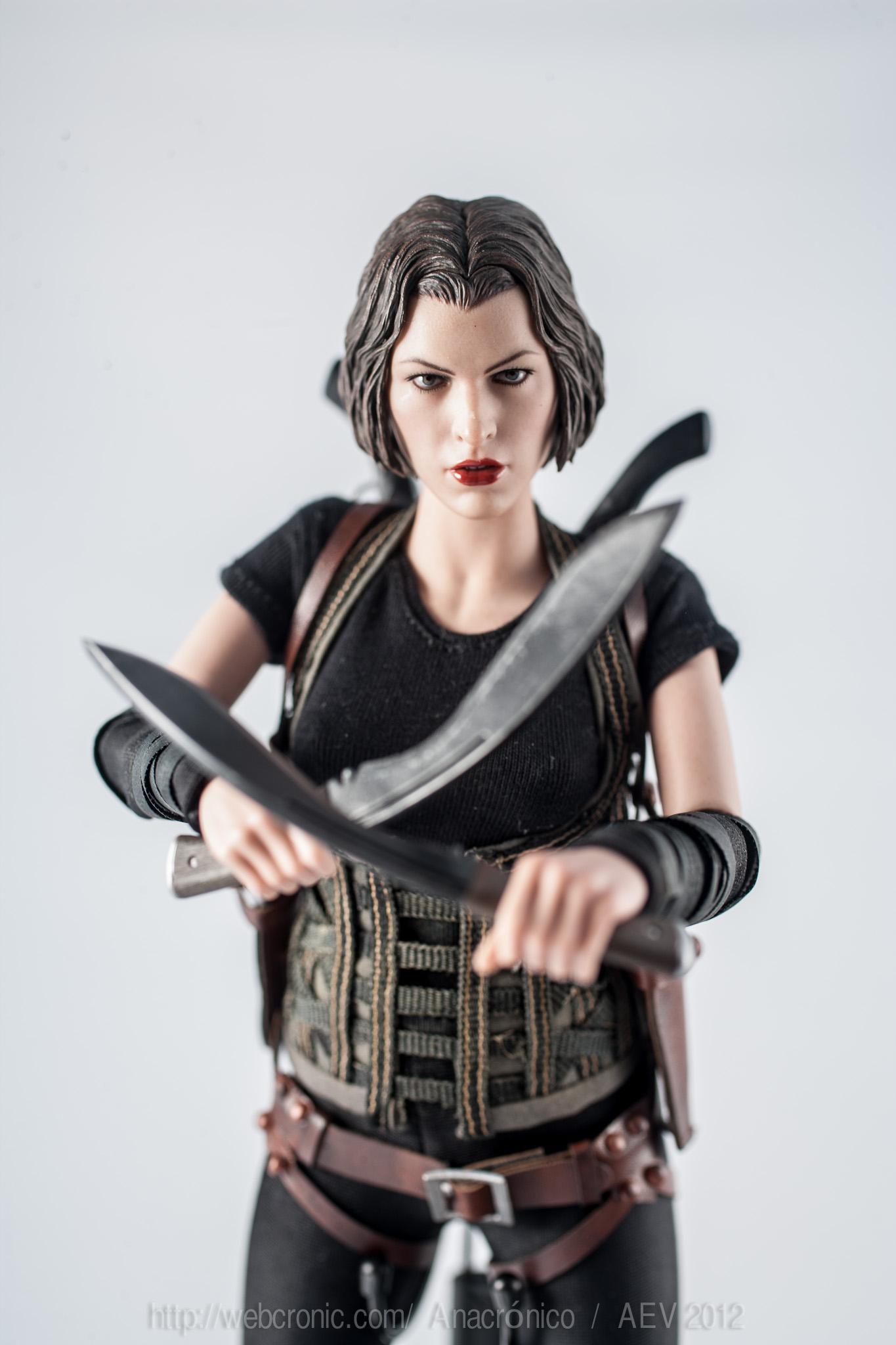 Alice – Resident Evil Hot toys o «por qué me quité del vicio»